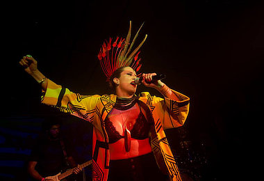 Cantora Marcia Novo agita Feira da FAS neste domingo