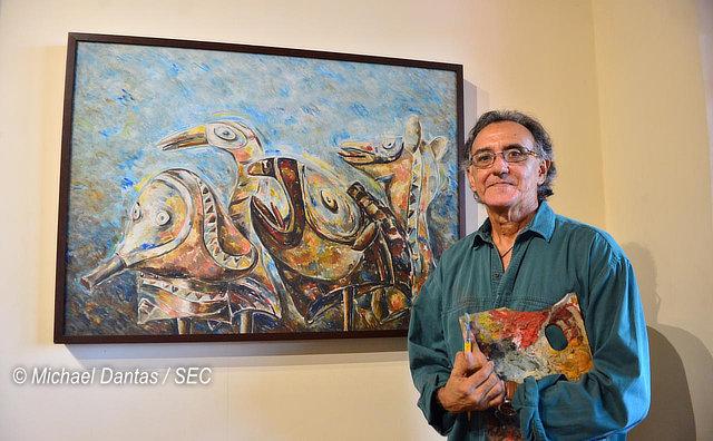 Jair Jacqmont realiza retrospectiva em exposição no Palacete Provincial