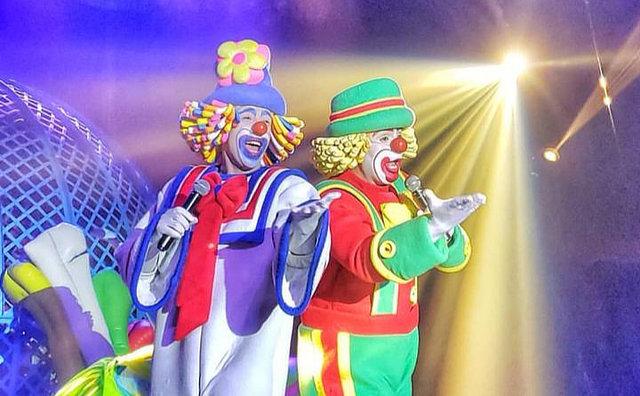 Ramito Circo estreia no Amazonas Shopping, com show dos palhaços Patati Patatá