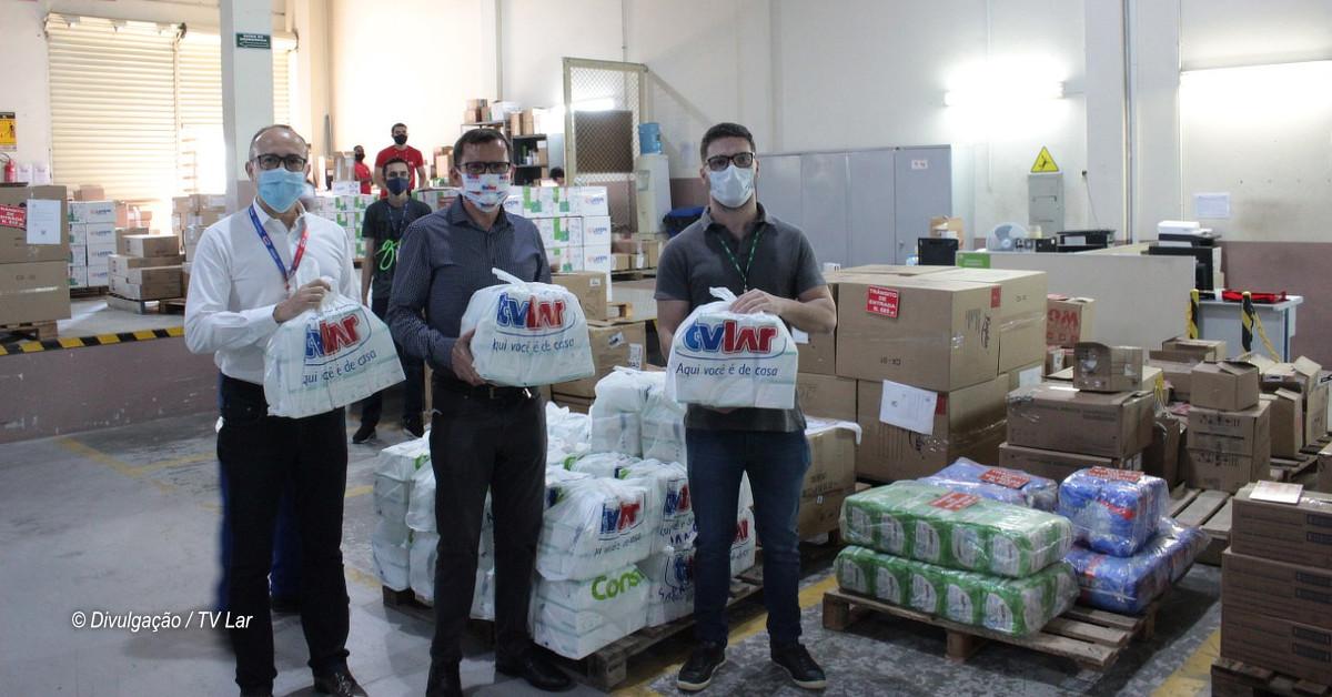 Tvlar importa 100 mil máscaras para atendimento especial de clientes