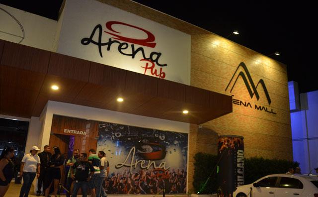 Bandas e DJs agitam Arena Pub , nesta sexta