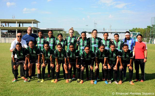 Manaus FC aplica goleada por 13 a 0 sobre Holanda no Feminino