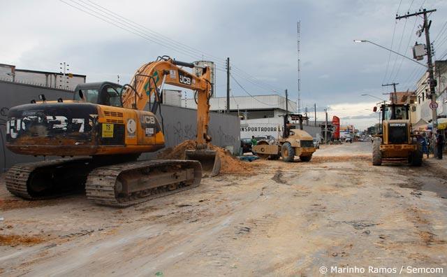 Principal via do Manoa ficará interditada até a próxima sexta-feira