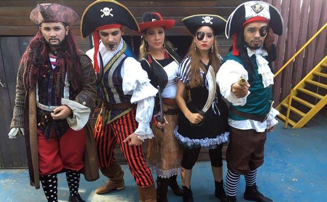 Piratas invadem o Parque Cidade da Criança neste fim de semana