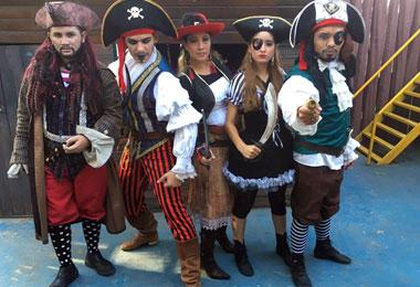 Piratas invadem o Parque Cidade da Crian�a neste fim de semana