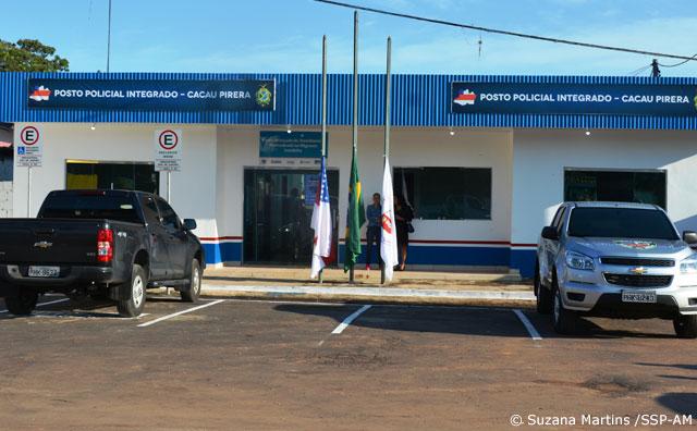 SSP-AM inaugura Posto Policial no Cacau Pirêra em Iranduba