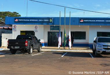 SSP-AM inaugura Posto Policial no Cacau Pir�ra em Iranduba