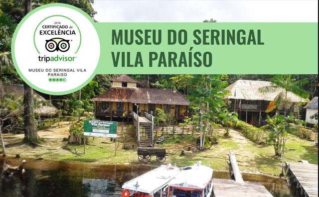 Museu do Seringal ganha selo de excelência do TripAdvisor