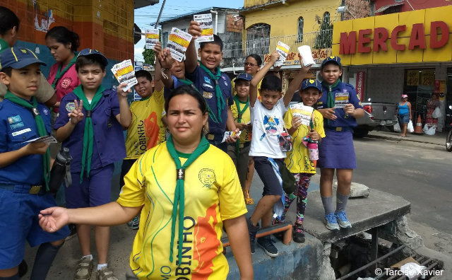 Escoteiros do Amazonas realizam ação social de saúde
