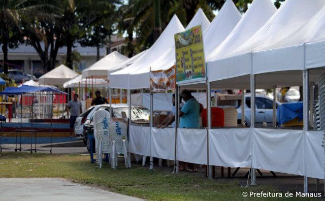 Festival Folclórico do Parque Dez começa nesta sexta-feira, 7