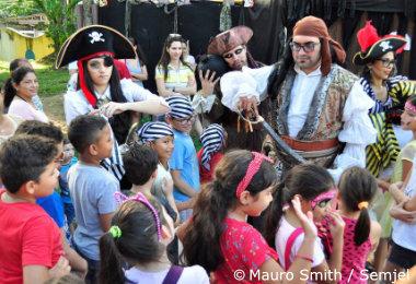 Piratas vão agitar o Parque Cidade da Criança neste fim de semana