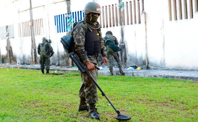 Exército e Forças Estaduais de Segurança fazem Operação