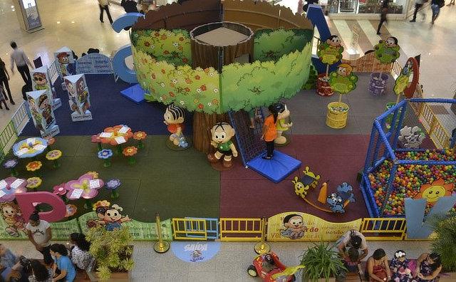 Turma da Mônica Oficial faz a animação das férias de julho no Manauara Shopping