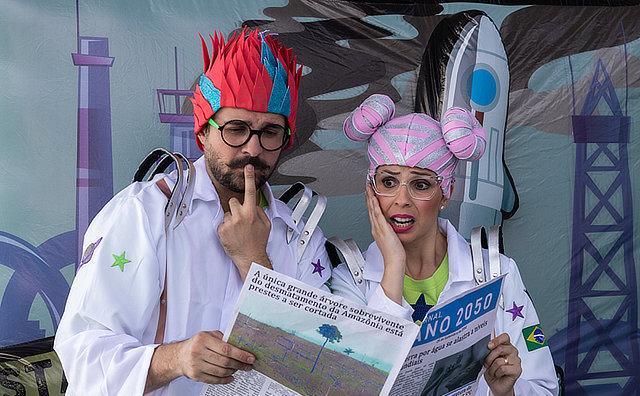 Manaus recebe teatro gratuito para crianças sobre sustentabilidade