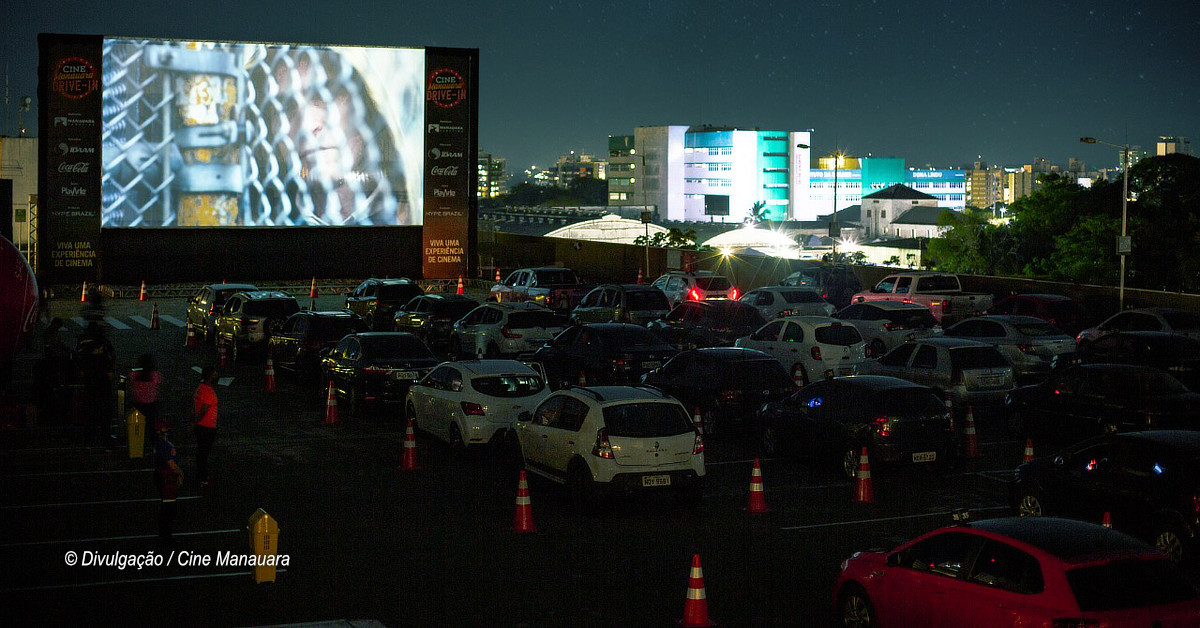 Cine Manauara Drive-In tem programação para toda a família neste fim de semana