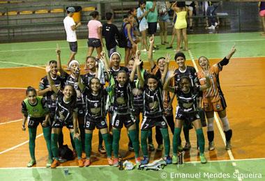 Estrela do Norte d� show em estreia no Amazonense de Futsal Feminino
