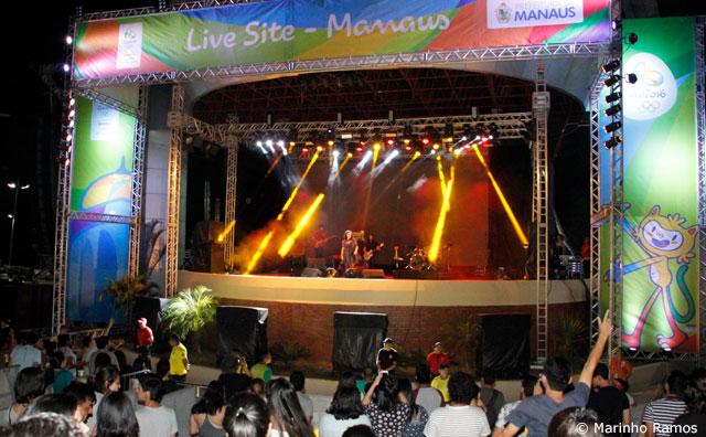 Show do CPM 22 encerra Live Site em Manaus, neste domingo