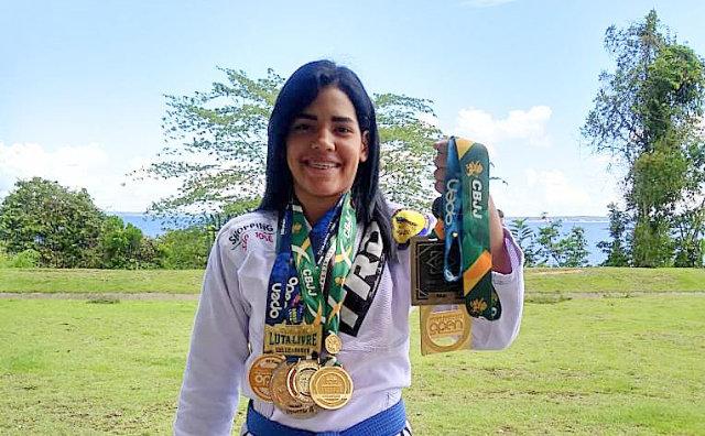 Larissa Nicácio busca nova conquista na Copa dos Campeões da FAJJE