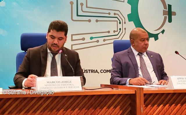 SUFRAMA e Eletros discutem competitividade industrial