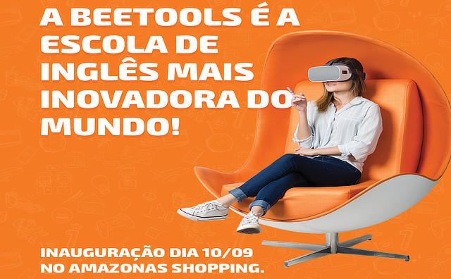 Beetools, a escola de inglês mais inovadora do mundo, chega a Manaus