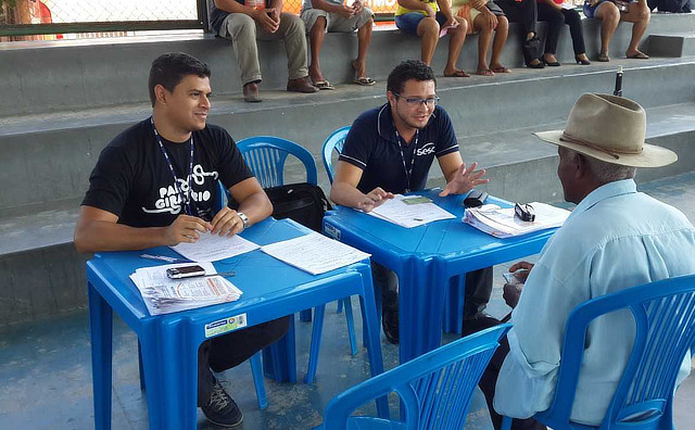 Caravana Sesc AM oferta serviços gratuitos para população no Centro