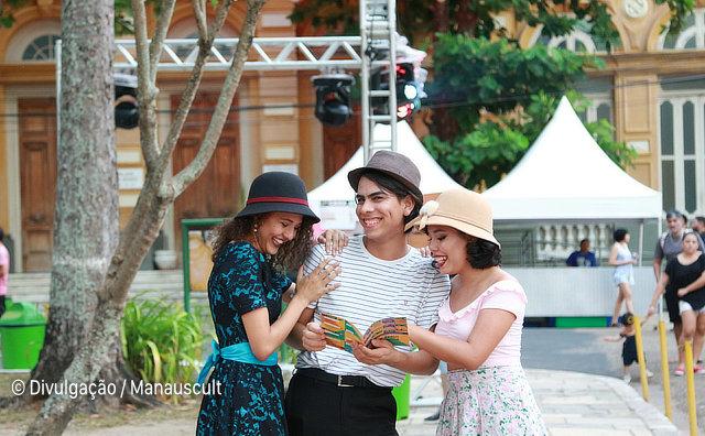 Artes, cultura e gastronomia no Centro Histórico de Manaus