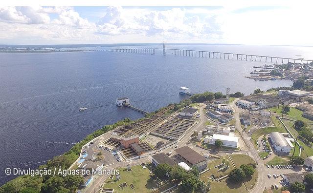 Complexo de produção de água da Ponta do Ismael passa por manutenção na manhã desta quarta