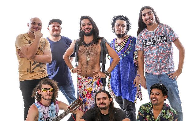 Banda Pororoca Atômica é atração da Feira da FAS neste domingo