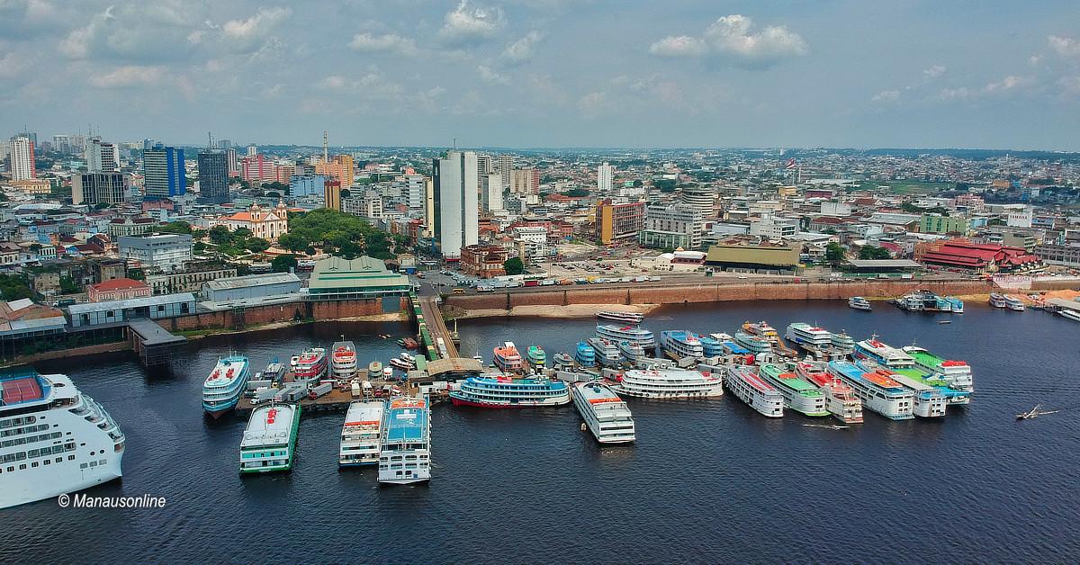 Porto de Manaus passa a vender passagens de barco no cartão de crédito