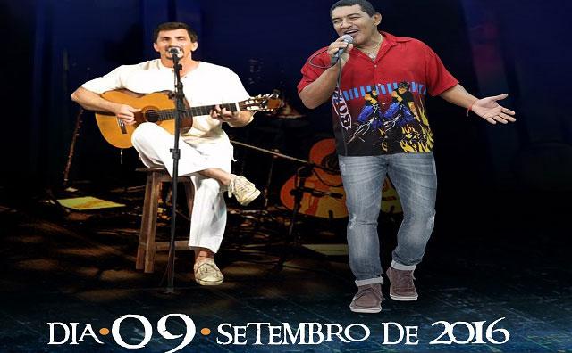 Cileno e Nícolas Jr apresentam Vozes do Norte, no Teatro Manauara