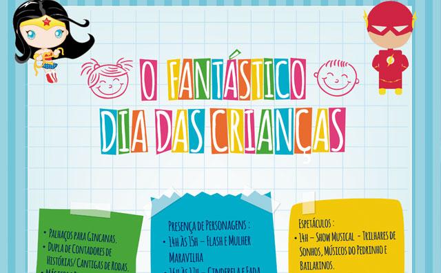 O Fantástico Dia das Crianças invade o Teatro Manauara