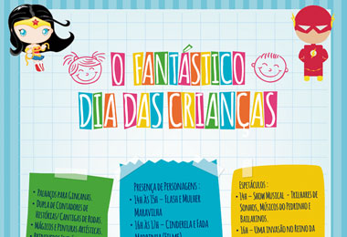 O Fant�stico Dia das Crian�as invade o Teatro Manauara