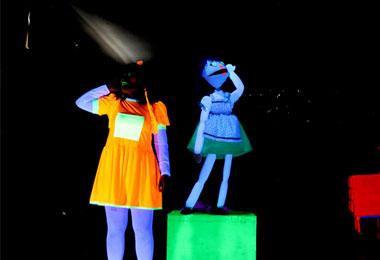 Festival de Teatro de Bonecos apresenta espet�culo infantil