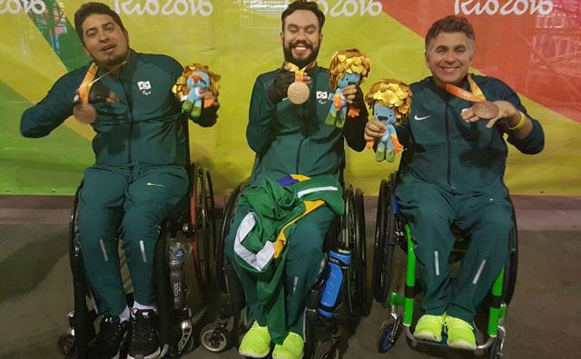 Amazonense conquista medalha de bronze nas Paralimpíadas do Rio