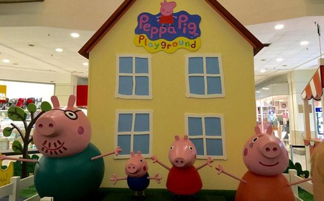 Peppa Pig Playground chega ao Amazonas Shopping para animar