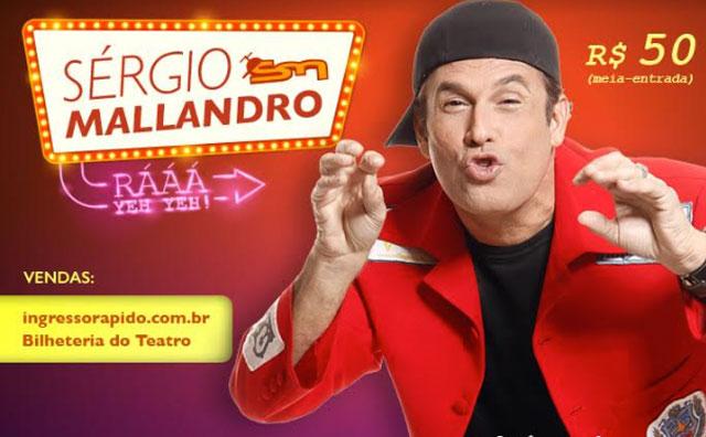 Sergio Mallandro volta ao Teatro Manauara