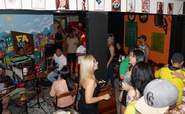 Amizade do Samba e Pagode dos Amigos no Favela Vieiralves