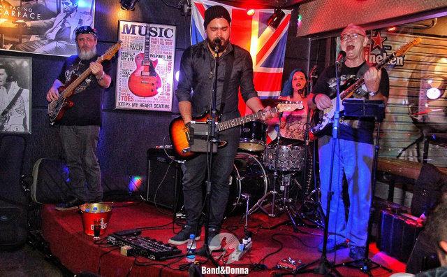 Band&Donna retorna neste sábado (09) ao palco do Jack `n` Blues