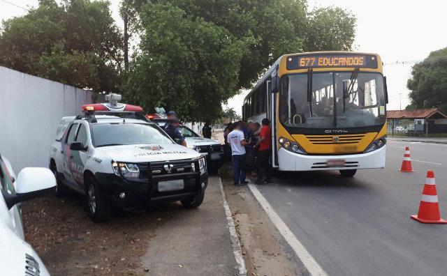 Operação Integrada reforça ações para coibir assalto a ônibus