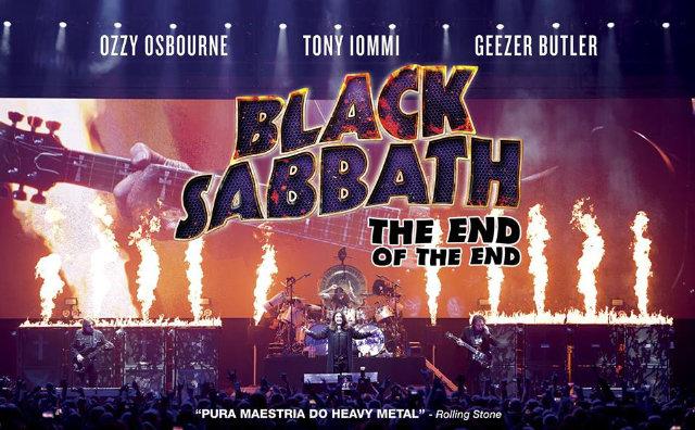 UCI exibe o último show da banda Black Sabbath