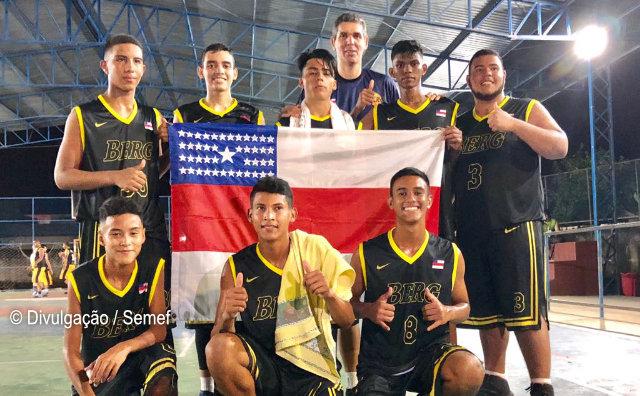 Equipe amazonense de basquete conquista 3º lugar em torneio