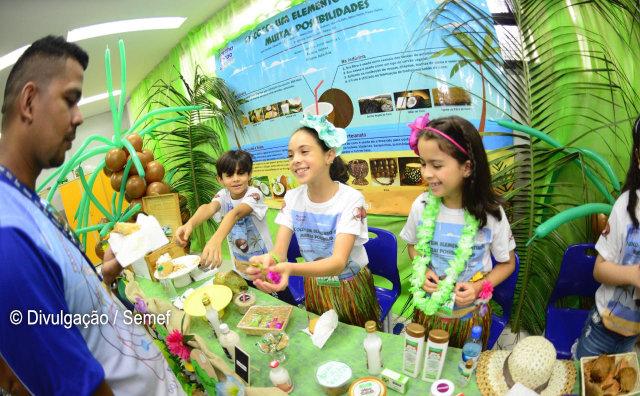 Crianças e adolescentes apresentam ideias e invenções