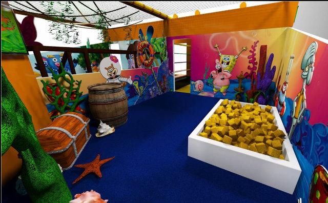 Arena Nickelodeon é a atração gratuita do Shopping Ponta Negra