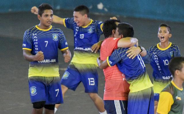 Equipe de handebol de Coari garante vaga para a fase nacional