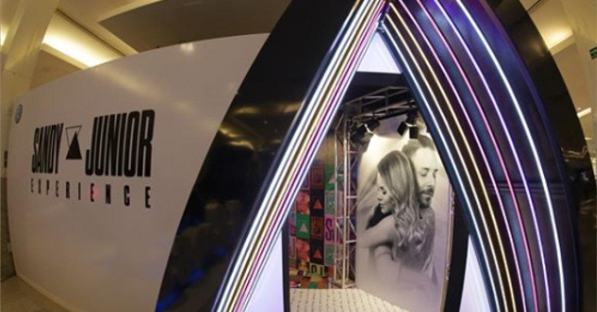 Exposição de Sandy e Junior estreia nesta quarta, no Shopping Ponta Negra