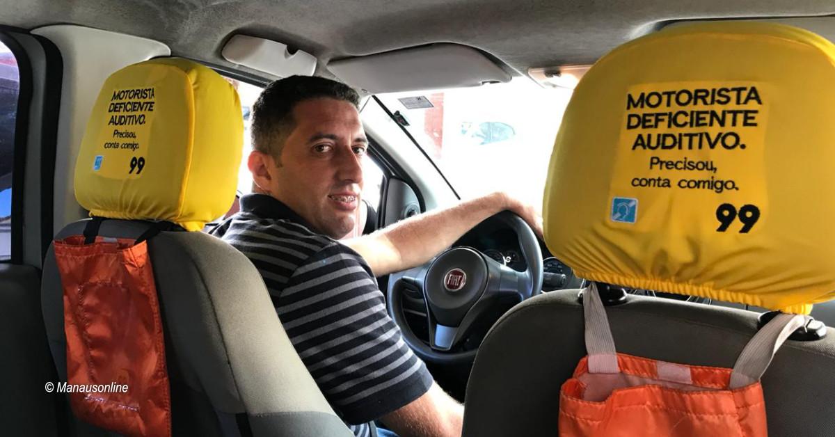 Pessoas com deficiência auditiva encontram oportunidade de renda como motoristas