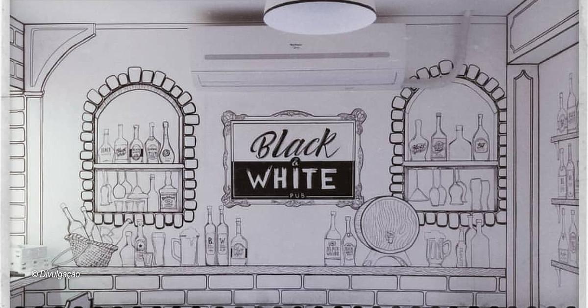 Pub Black & White inaugura nesta sexta em Manaus