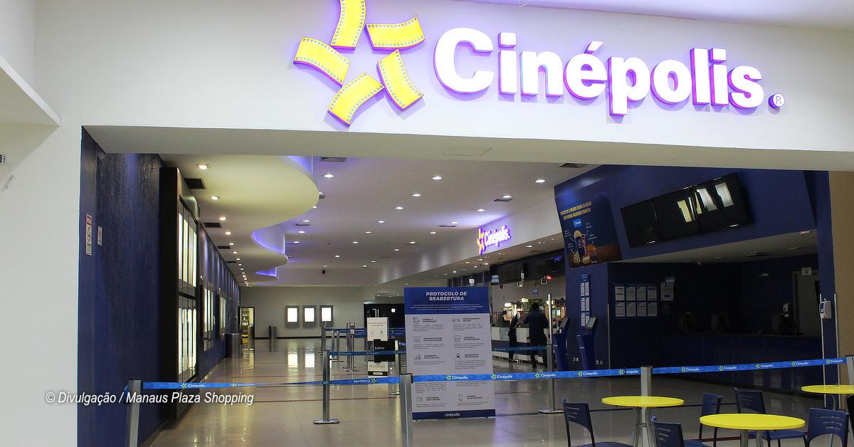 Cinépolis do Manaus Plaza Shopping reabre nesta quinta-feira (3)
