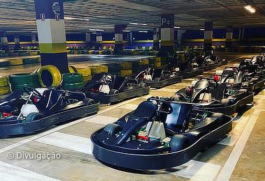Pista de kart e boliche solidário são opções de diversão no Sumaúma Park Shopping