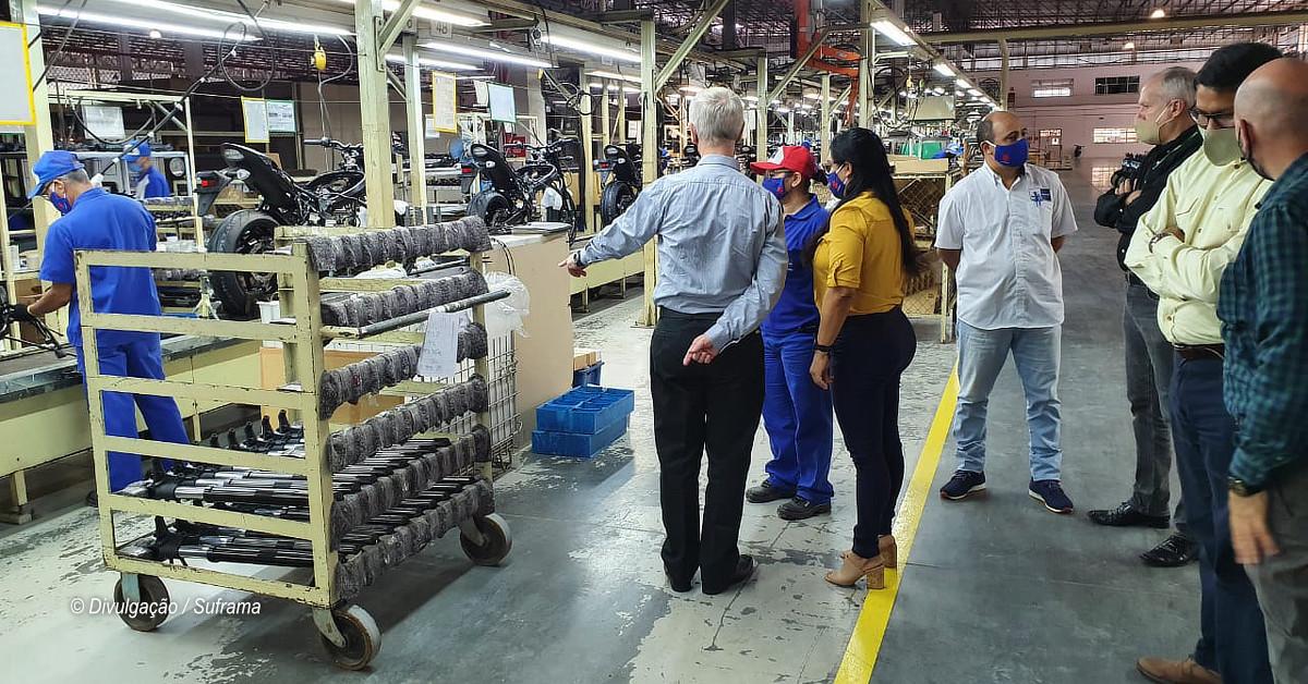 Entre desafios e expectativas, Suzuki apresenta sua planta fabril no PIM à Suframa
